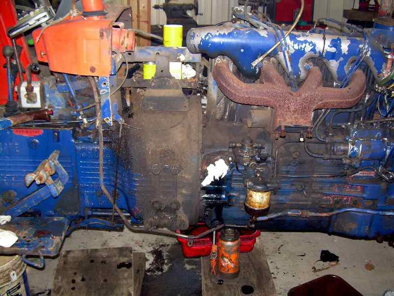 Tractor Splitting Jacks : Rumblings from nifty galoot splitting a tractor